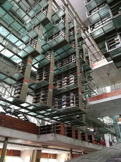 Biblioteca Vasconcelos de la ciudad de  México
