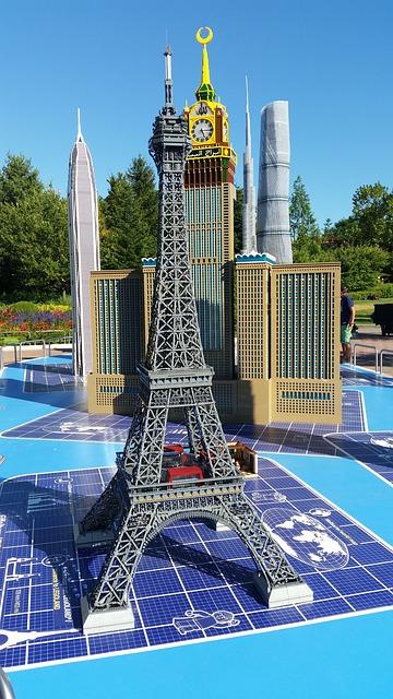 Torre Eiffel Legoland